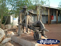 Halls Creek Statue of Russian Jack . . . CLICK TO ENLARGE