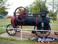 Halls Creek Steam Engine . . . CLICK TO ENLARGE