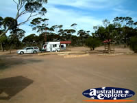 Balladonia Caravan Park . . . CLICK TO ENLARGE