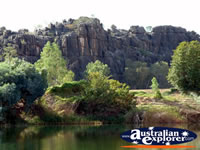 Stunning View of Fitzroy Crossing Geikie Gorge . . . CLICK TO ENLARGE