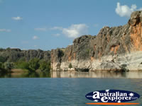 Fantastic View of Fitzroy Crossing Geikie Gorge . . . CLICK TO ENLARGE