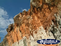 Close up Shot of Fitzroy Crossing Geikie Gorge . . . CLICK TO ENLARGE