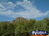 Picturesque View of Fitzroy Crossing Geikie Gorge . . . CLICK TO ENLARGE