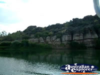 Scenic View of Fitzroy Crossing Geikie Gorge . . . CLICK TO ENLARGE