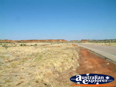 Landscape Before Reaching Fitzroy Crossing . . . CLICK TO VIEW ALL FITZROY CROSSING POSTCARDS