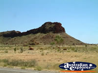 Hill Before Fitzroy Crossing . . . CLICK TO ENLARGE