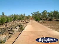 Landscape of Mary Pool Walkway on Way to Fitzroy Crossing . . . CLICK TO ENLARGE