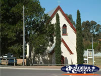 Lovely Church in Dongara . . . CLICK TO ENLARGE