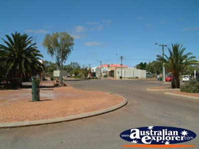 Mullewa Street Corner . . . CLICK TO VIEW ALL MULLEWA POSTCARDS