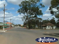 Coorow Main Street . . . CLICK TO ENLARGE