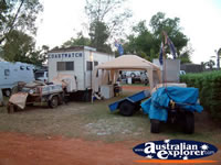 Camping at Eighty Mile Beach Caravan Park . . . CLICK TO ENLARGE