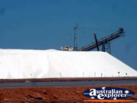 Salt Stack in Port Hedland . . . CLICK TO ENLARGE