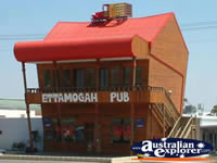 Ettamugah Pub in Cunderdin on Way to Merredin . . . CLICK TO ENLARGE