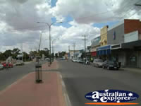 View down Merredin Street . . . CLICK TO ENLARGE