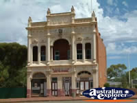 Old Building in the town of Coolgardie . . . CLICK TO ENLARGE