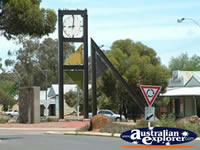 Norseman Town Clock . . . CLICK TO ENLARGE