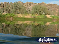 Geikie Gorge's Picturesque Views . . . CLICK TO ENLARGE