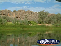 Western Australia's Geikie Gorge  . . . CLICK TO ENLARGE