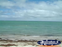Great shot of the water at Shark Bay in Denham . . . CLICK TO ENLARGE