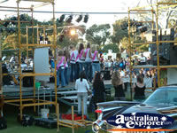 Backstage at Geraldton Festival Party . . . CLICK TO ENLARGE