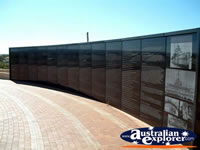 HMAS Sydney Memorial in Geraldton . . . CLICK TO ENLARGE