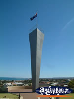 HMAS Sydney Memorial in Geraldton, WA . . . CLICK TO ENLARGE