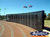 Memorial for HMAS Sydney in Geraldton . . . CLICK TO ENLARGE