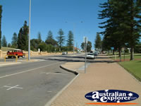 View down Geraldton Street in Western Australia . . . CLICK TO ENLARGE
