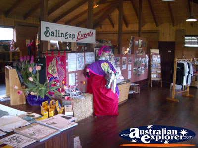 Balingup and District Tourist Information Centre . . . CLICK TO VIEW ALL BALINGUP POSTCARDS