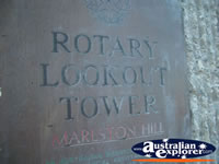 Marlston Hill Lookout Sign . . . CLICK TO ENLARGE