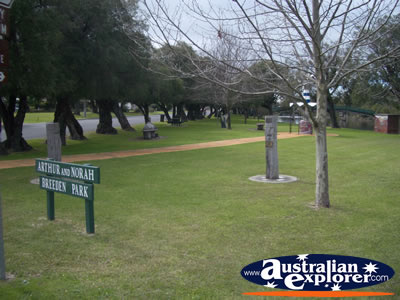Busselton Arthur And Norah Breeden Park . . . CLICK TO VIEW ALL BUSSELTON POSTCARDS