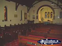 Inside Busselton St Marys Anglican Church . . . CLICK TO ENLARGE