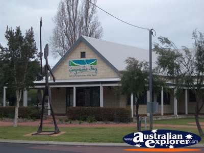 Busselton Visitor Centre from the Street . . . CLICK TO VIEW ALL BUSSELTON POSTCARDS