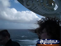 Windy shot at Cape Leeuwin Lighthouse . . . CLICK TO ENLARGE