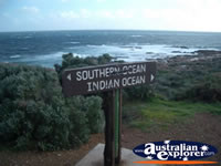 Cape Leeuwin Oceans Merge . . . CLICK TO ENLARGE