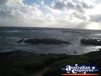 Cape Leeuwin Scenery from Skippy Rock Carpark . . . CLICK TO ENLARGE