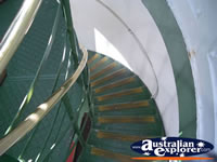 Staircase in the Cape Naturaliste Lighthouse . . . CLICK TO ENLARGE