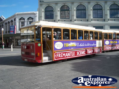 Fremantle Scenic Tram Tour . . . CLICK TO VIEW ALL FREMANTLE POSTCARDS