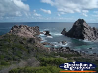 View of Leeuwin Naturaliste National Park Sugarloaf Rock . . . CLICK TO ENLARGE