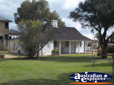 Mandurah Halls Cottage Circa 1833 . . . CLICK TO VIEW ALL MANDURAH POSTCARDS