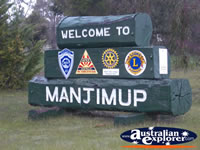 Manjimup Welcome . . . CLICK TO ENLARGE