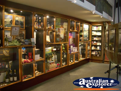 Margaret River Visitor Centre Wine Tourism Showroom . . . CLICK TO VIEW ALL MARGARET RIVER POSTCARDS