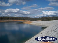North Dandalup Dam Pebbled Beach . . . CLICK TO ENLARGE