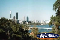 Perth - View of the city.