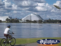 Perth Burswood Casino View from Across the Water . . . CLICK TO ENLARGE