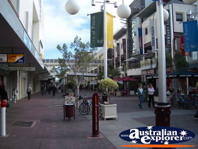 Perth Central Business District Shopping . . . CLICK TO VIEW ALL PERTH (SHOPPING) POSTCARDS