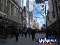 Shopping - Perth CBD.