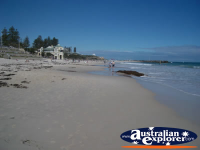 Perth Cottesloe Beach . . . CLICK TO VIEW ALL PERTH BEACHES POSTCARDS