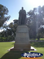 Perth Kings Park Lord Forrest Statue . . . CLICK TO ENLARGE