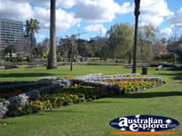 Landscape of Perth Queens Gardens . . . CLICK TO ENLARGE